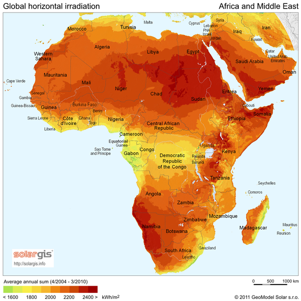 New Africa Map.New Tool Maps Intersection Of Climate Change Conflict And Aid The