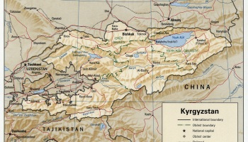 Kyrgyzstan Tajikistan Land and Water Conflicts  The Center for
