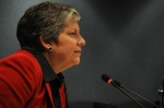 DHS Secretary Janet Napolitano visits FEMA Headquarters