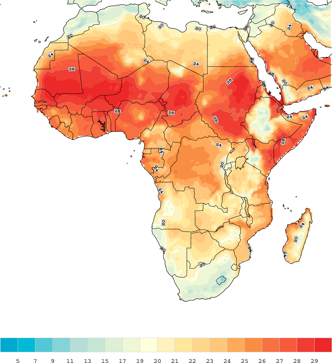 Assessing Climate Security Vulnerability in Africa: CCAPS's new