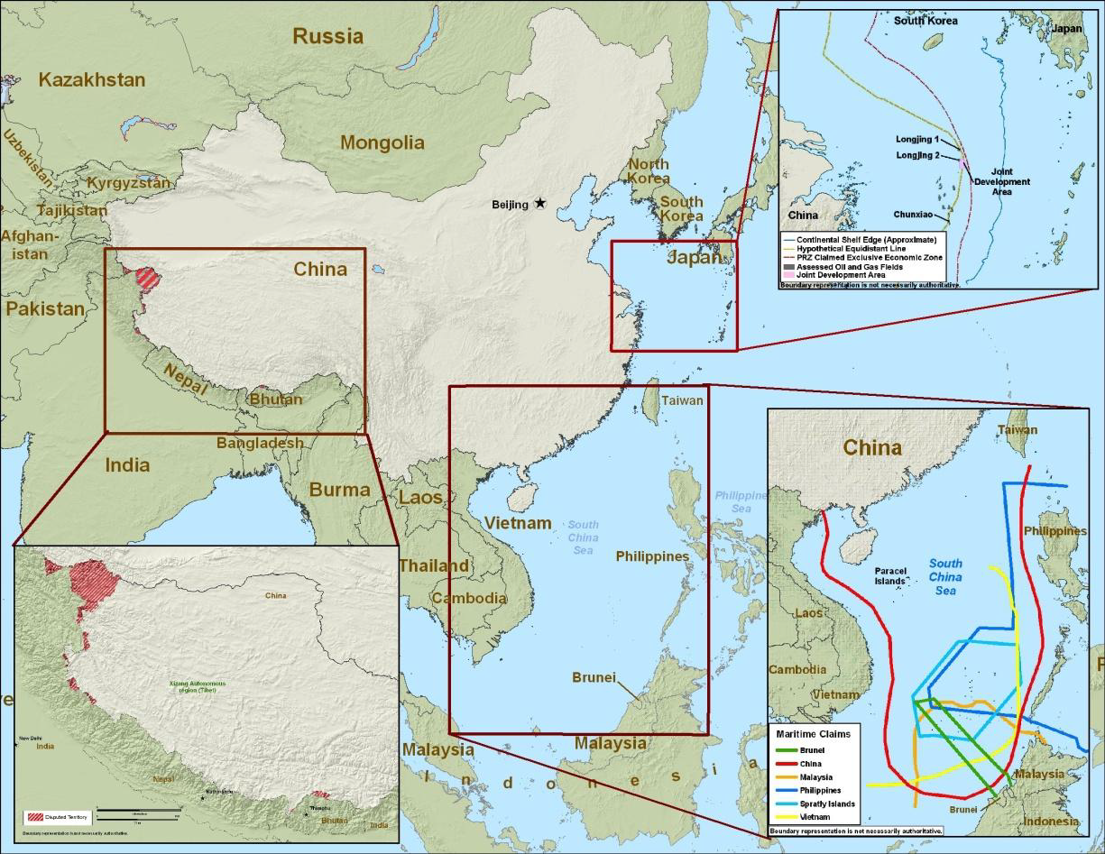 WORLD DEFENSE REVIEW China Redraws Map PH Digs In - Economic zones southeast asia map