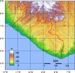 Liberia_Topography