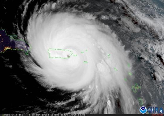 HurricaneMariaMakesLandfallPuertoRico