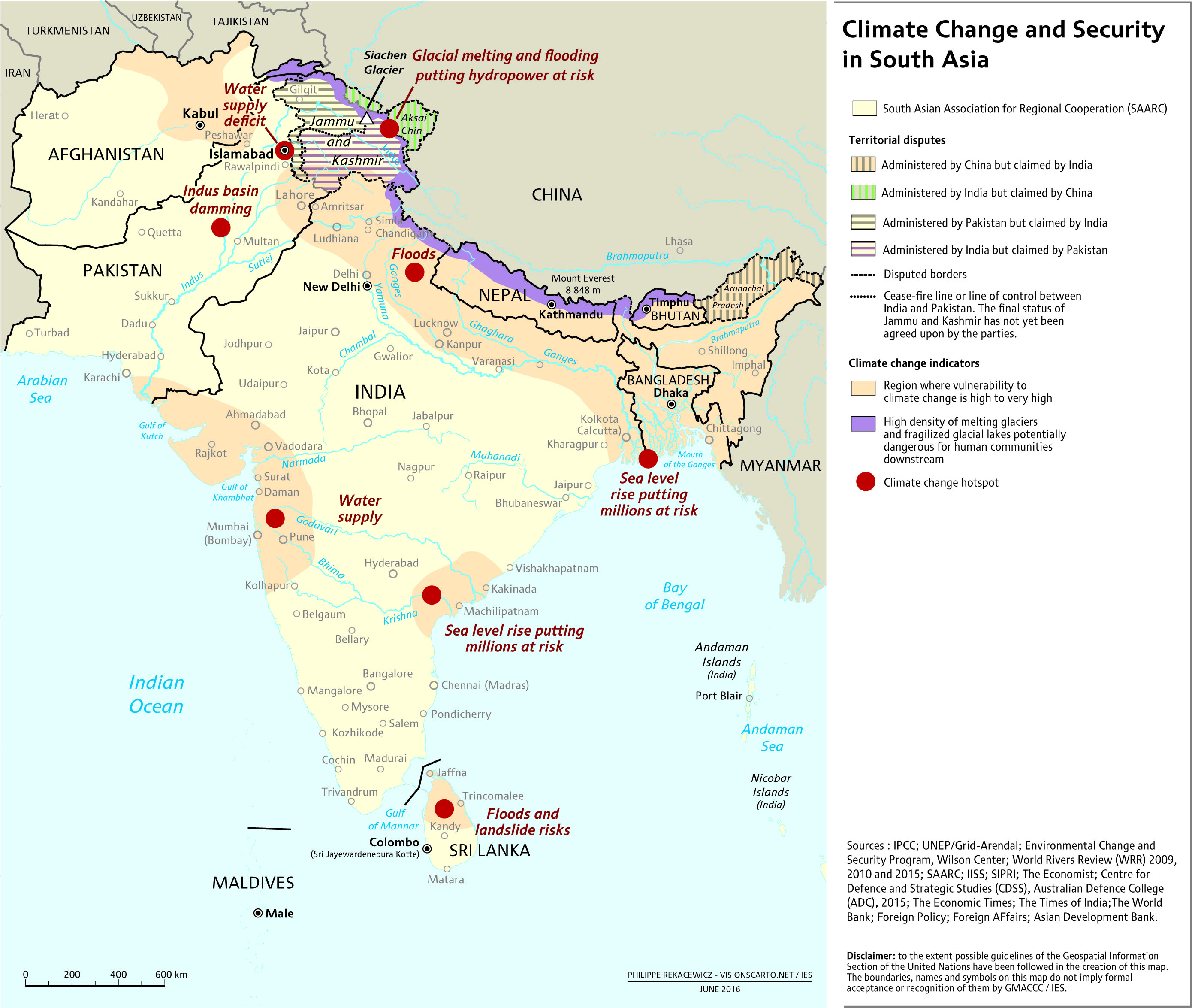 Map Of Asia Sri Lanka.Takeaways From Sri Lanka Event Climate Security In South Asia The