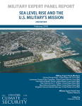 Military Expert Panel Report Cover_Sea Level Rise and the US Militarys Mission 2nd Edition