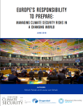 Europes Responsibility to Prepare_Cover Image