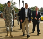 NC Sen. Thom Tillis visits Fort Bragg