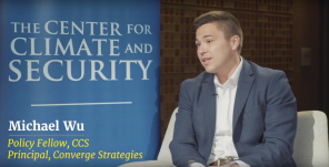 Michael Wu_Climate and Security Podcast