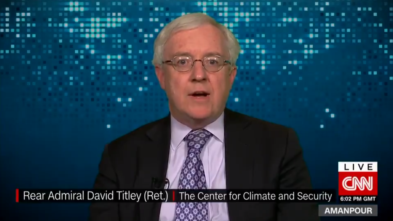 Rear Admiral David Titley USN Ret_CNN Interview_2019_03_07