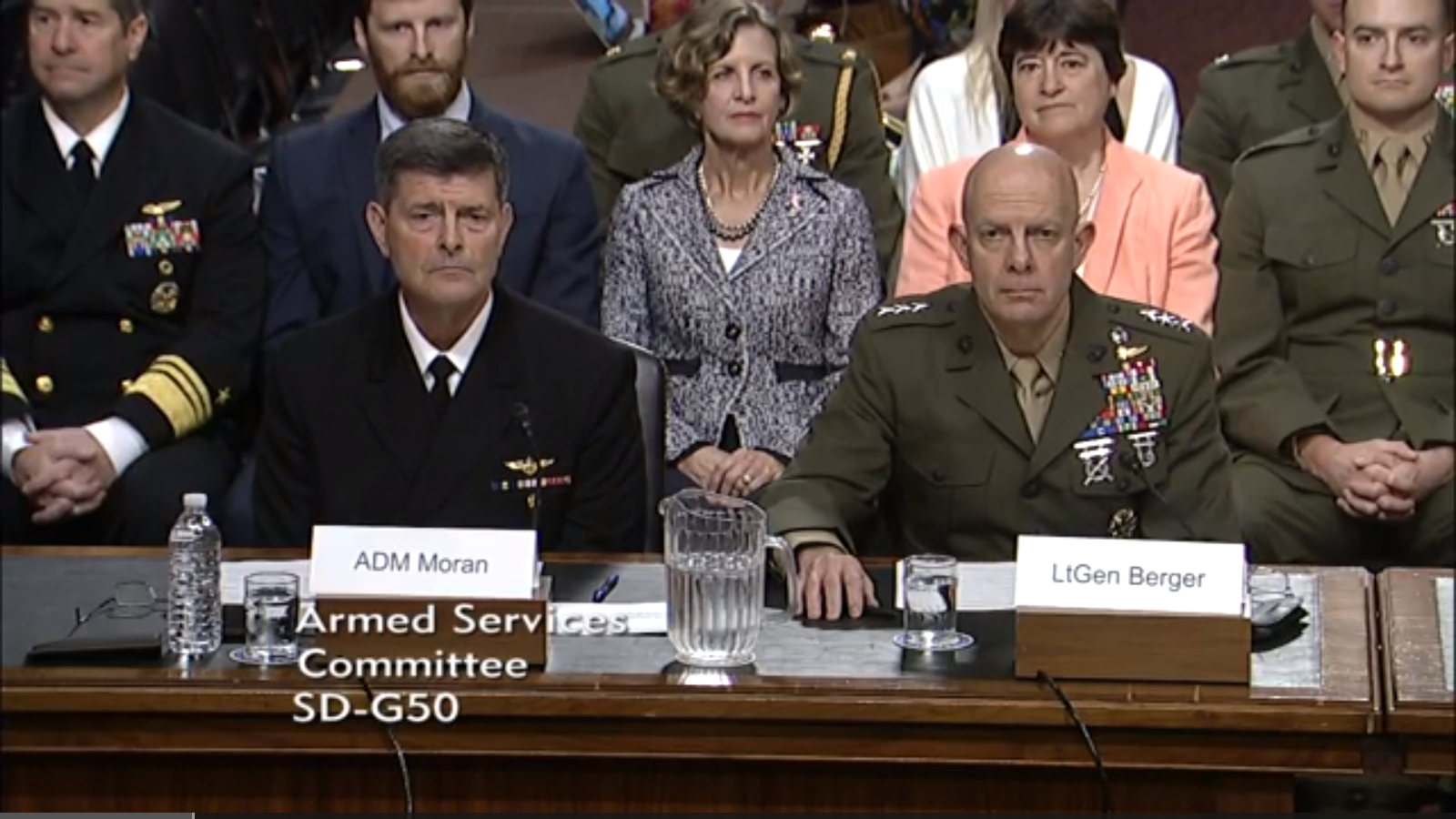 U.S. Navy And Marine Corps Nominees Highlight The Threat