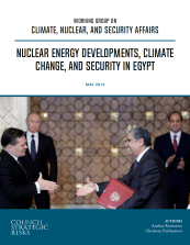 CSR Working Group on Climate Nuclear Security Affairs_Egypt Report_2019_6_11