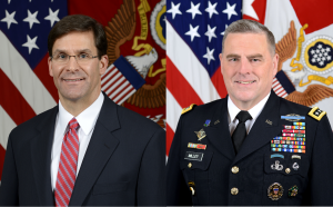 Secretary Esper and General Milley