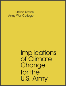 US Army War College_Implications of Climate Change for the U.S. Army_2019_7