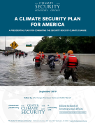 A Climate Security Plan for America_Report Cover