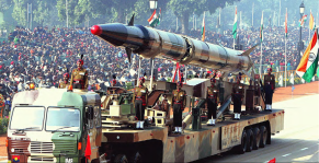 Indian Agni-II intermediate range ballistic missile