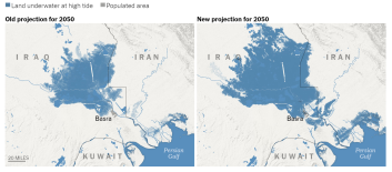 New Sea Level Rise Projections for Basra