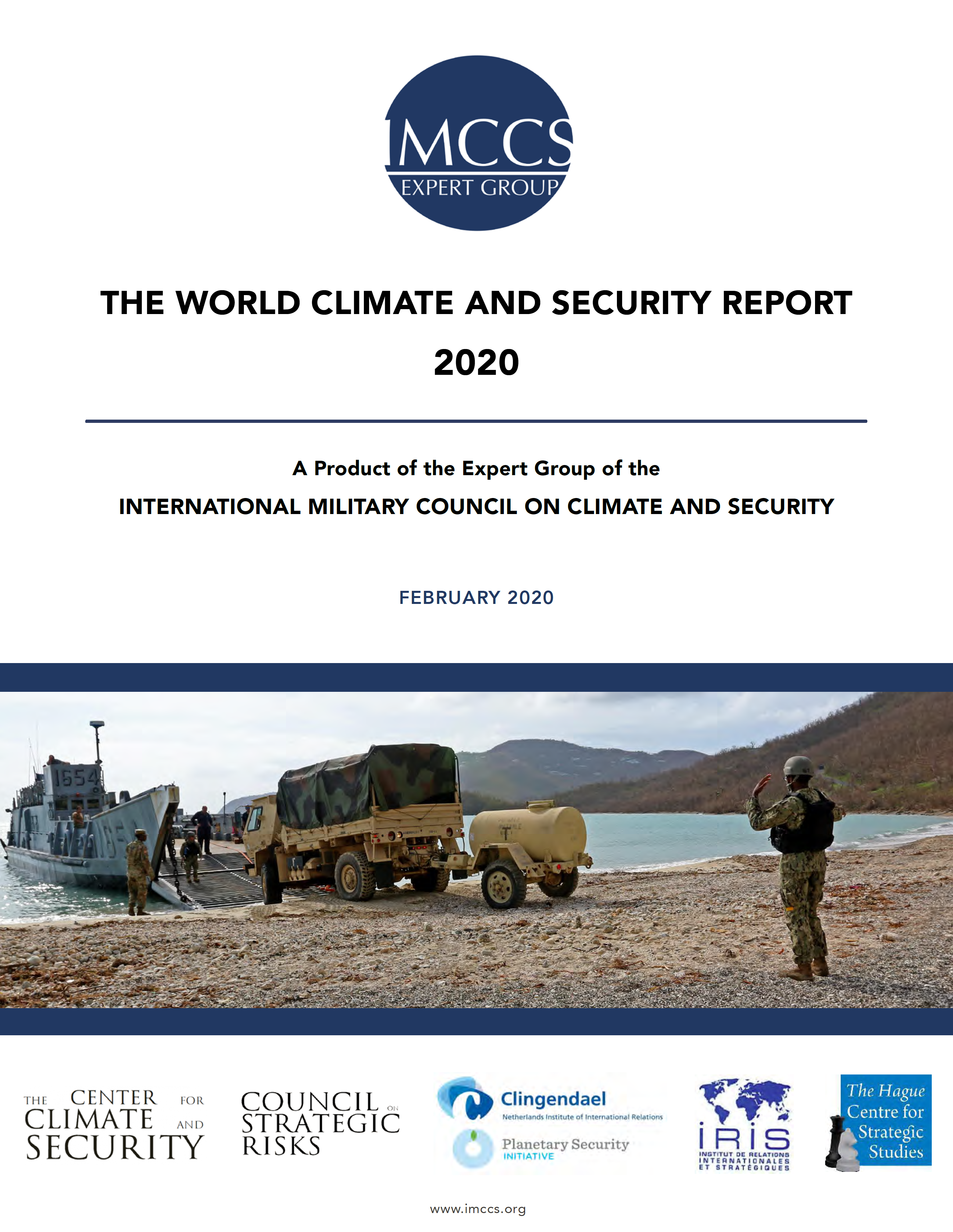 """RELEASE: International Military Council Issues """"World Climate and Security Report 2020"""" at Munich Security Conference"""