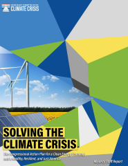 Solving the Climate Crisis Report Cover